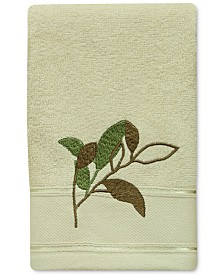Bacova Sheffield Cotton Embroidered Fingertip Towel