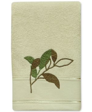 Bacova Sheffield Cotton Embroidered Fingertip Towel Bedding