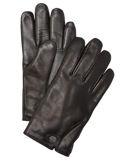 5afb863295915d UGG® Men's Leather Smart Gloves & Reviews - Hats, Gloves & Scarves ...