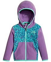 The North Face Glacier Dot-Print Zip Hoodie, Baby Girls