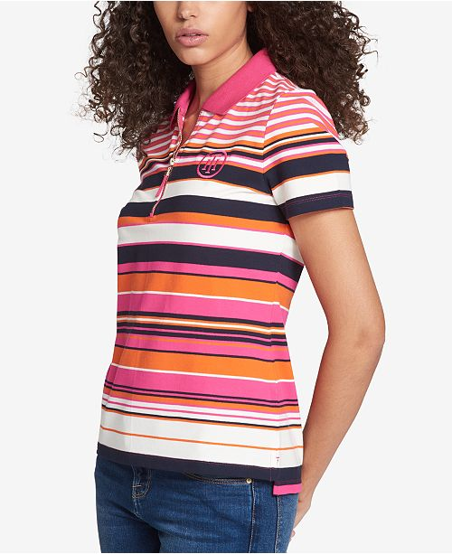 Tommy Hilfiger Half-Zip Polo Top, Created for Macy's