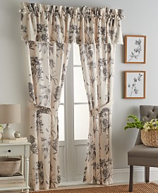 Sanderson Etching & Roses Window Valance