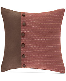 "Croscill Kent Fashion 16"" x 16"" Decorative Pillow"