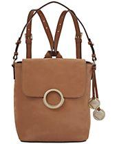 Calvin Klein Reese Medium Suede Backpack
