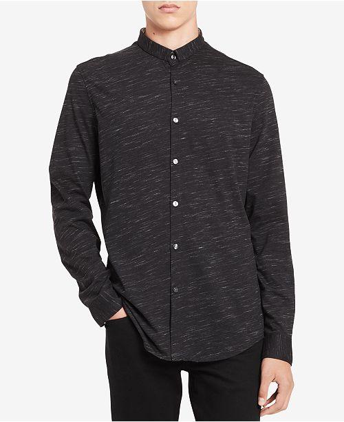Calvin Klein Men's Jersey Heathered Shirt