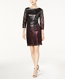 Jessica Howard Lace Sheath Dress