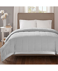 Madison Park Cambria King Down Alternative Blanket, Embossed Oversized Reversible Quilted Microfiber with 3M Scotchgard™