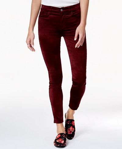 7 For All Mankind Velvet Skinny Jeans