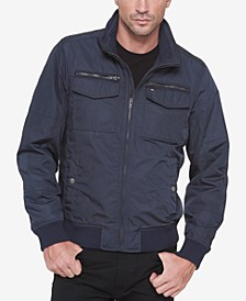 Men's Four-Pocket Filled Performance Bomber Jacket