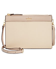 kate spade new york Cameron Street Clarise Saffiano Leather Crossbody