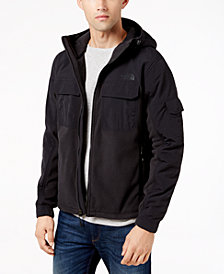 The North Face Men's Salinas Colorblocked Hooded Fleece Jacket