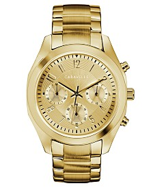 Caravelle Designed by Bulova  Women's Gold-Tone Stainless Steel Bracelet Watch 36mm