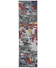 "Oriental Weavers Evolution Becker 2'3"" x 8' Runner Area Rug"