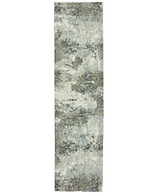 "Strata  Ion 2'3"" x 8' Runner Area Rug"