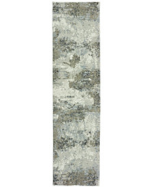 "Oriental Weavers Evolution Ion 2'3"" x 8' Runner Area Rug"