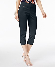 Tummy-Control Pull-On Capri Pants, Regular & Petite Sizes, Created for Macy's