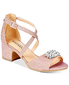 Badgley Mischka Pernia Gems Sandals, Little Girls (11-3) & Big Girls (3.5-7)