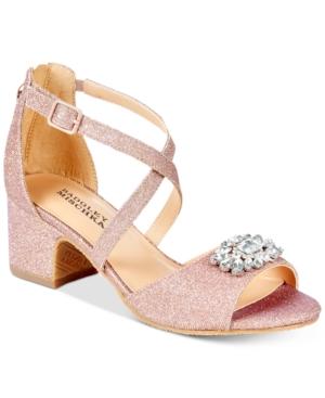 Badgley Mischka Pernia Gems Sandals Little Girls (113)  Big Girls (357)