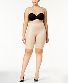 Women's Plus Size Power Conceal-Her Extended Length Short 10135P