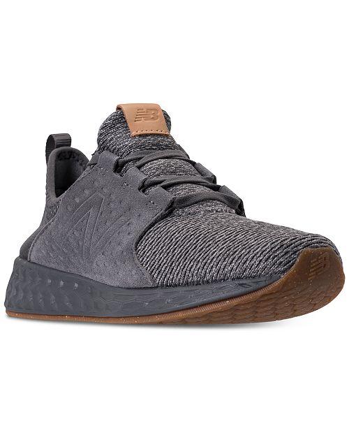 New Balance Men s Fresh Foam Cruz Running Sneakers from Finish Line ... 8d03038aa0
