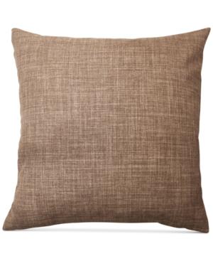 Hallmart Collectibles Crosswoven Jacquard 18 Square Decorative Pillow Bedding