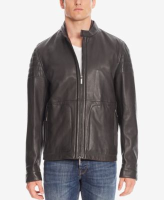 Hugo boss leather jacket repair