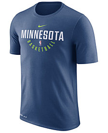 Nike Men's Minnesota Timberwolves Dri-FIT Cotton Practice T-Shirt