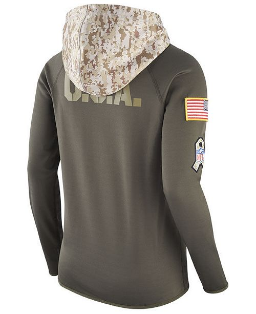 reputable site 3ca77 decad Nike Women's Denver Broncos Salute To Service Hoodie ...