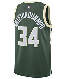 Men's Giannis Antetokounmpo Milwaukee Bucks Icon Swingman Jersey