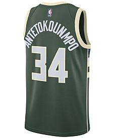 Nike Men's Giannis Antetokounmpo Milwaukee Bucks Icon Swingman Jersey