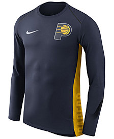 Nike Men's Indiana Pacers Hyperlite Shooter Long Sleeve T-Shirt