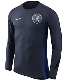 Nike Men's Minnesota Timberwolves Hyperlite Shooter Long Sleeve T-Shirt