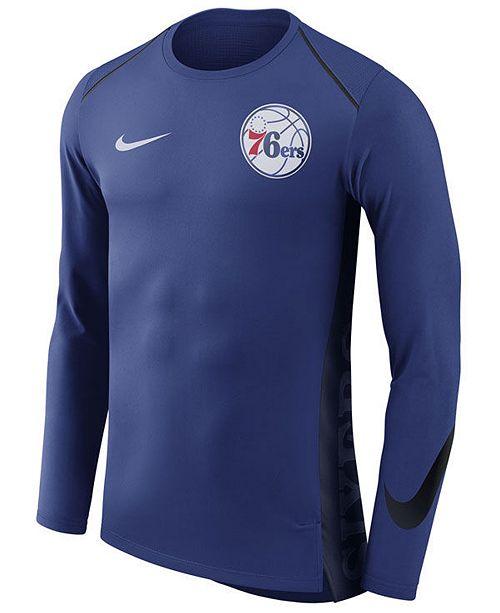 ef96557b90b ... Nike Men s Philadelphia 76ers Hyperlite Shooter Long Sleeve T-Shirt ...