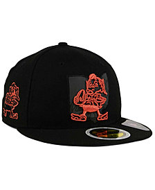 New Era Cleveland Browns State Flective Metallic 59FIFTY Fitted Cap