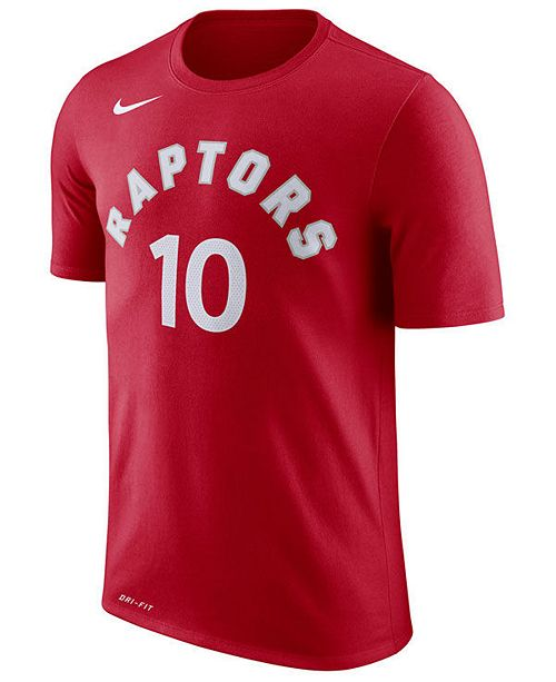 promo code ba3b8 1bdfc Men's Demar Derozan Toronto Raptors Name & Number Player T-Shirt