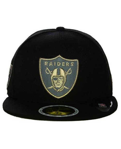 a8a06ad1 ... New Era Oakland Raiders State Flective Metallic 59FIFTY Fitted Cap ...