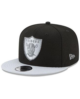 5a3cf3e0f09 New Era Oakland Raiders Heather Pop 9FIFTY Snapback Cap - Sports Fan Shop  By Lids - Men - Macy s