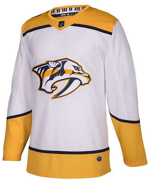 adidas Men's Nashville Predators Authentic Pro Jersey