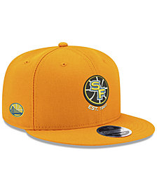 New Era Golden State Warriors Basic Link 9FIFTY Snapback Cap