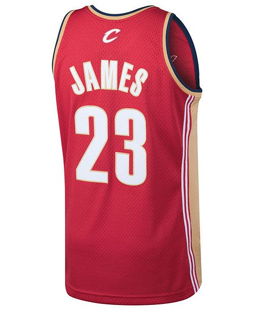 best website 598d5 f90b0 Men's LeBron James Cleveland Cavaliers Hardwood Classic Swingman Jersey