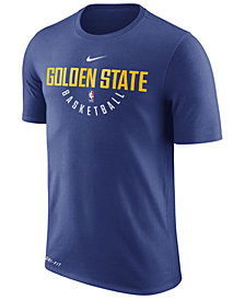 Nike Men's Golden State Warriors Dri-FIT Cotton Practice T-Shirt