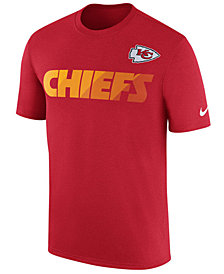 Nike Men's Kansas City Chiefs Legend Sideline Team T-Shirt