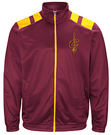 G-III Men's Sports Cleveland Cavaliers Broad Jump Track Jacket