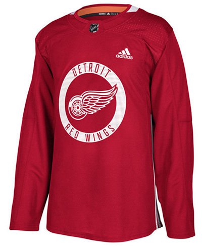 adidas Men's Detroit Red Wings Authentic Pro Practice Jersey