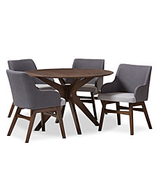 Gildyn 5-Pc. Dining Set, Quick Ship