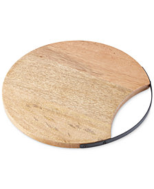 Dansk Moby Wood Cutting Board with Handle