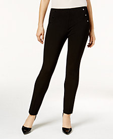 Nine West Embellished Skinny Pants