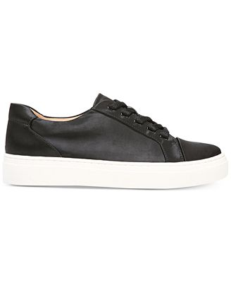 Cairo Satin Lace Up Sneakers