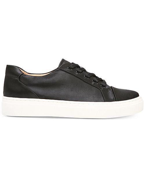 Cairo Satin Lace Up Sneakers FWNFMU