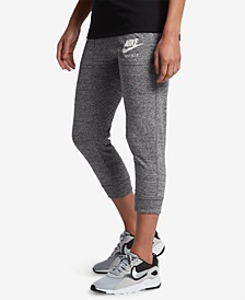 Women's Gym Vintage Capri Pants